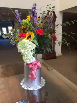 BBQ flowers